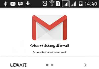 Cara membuat akun Gmail baru untuk Android atau HP dengan OS lain